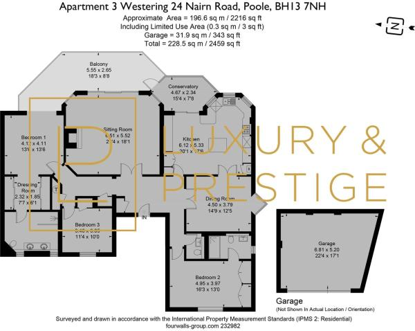 Apt 3 Westering - Floorplan