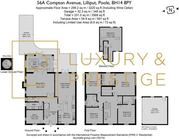 56a Compton Avenue - Floorplan