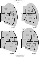 La Plage - Floorplan