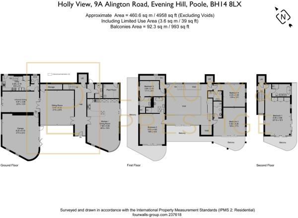 Holly View, 9A Alington Road - Floorplan