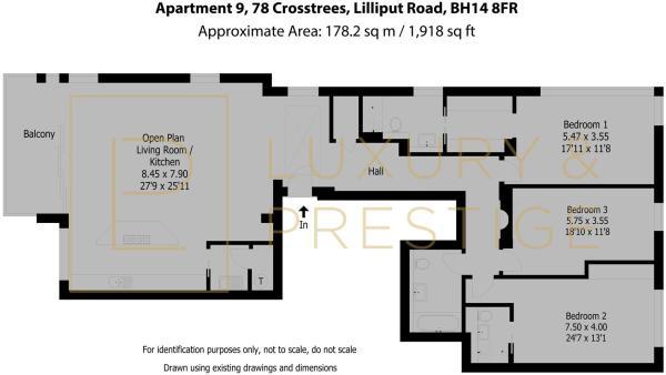 Apartment 9, 78 Crosstrees - Floorplan