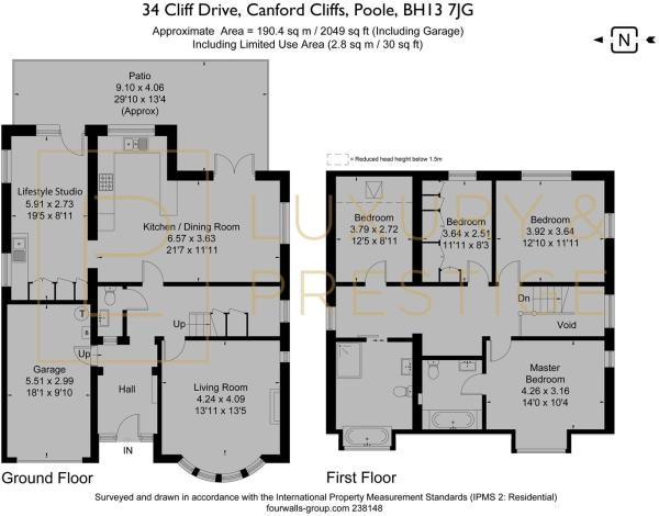 34 Cliff Drive - Floorplan