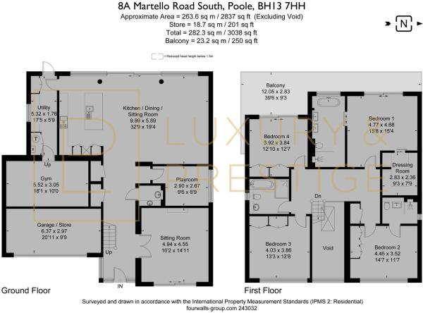 8A Martello Road - Floorplan
