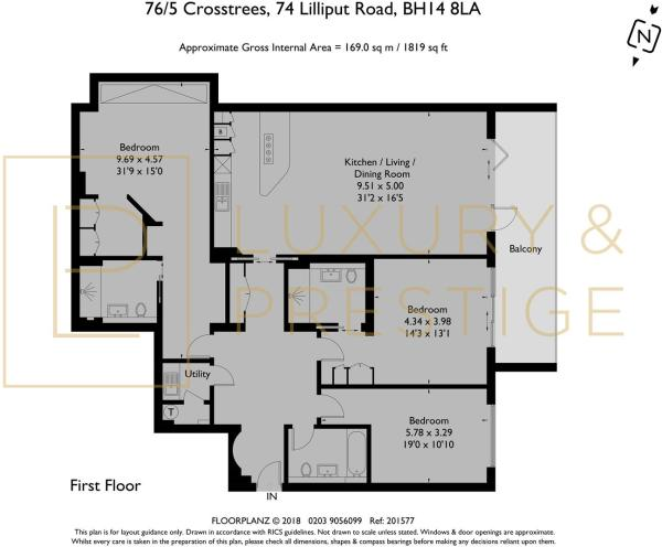 Apt 5 76 Crosstrees - Floorplan