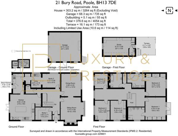 21 Bury Road - Floorplan
