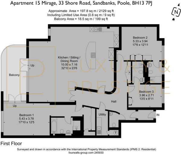 Apartment 15 Mirage - Floorplan