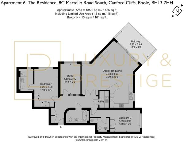 Apt 6 The Residence - Floorplan