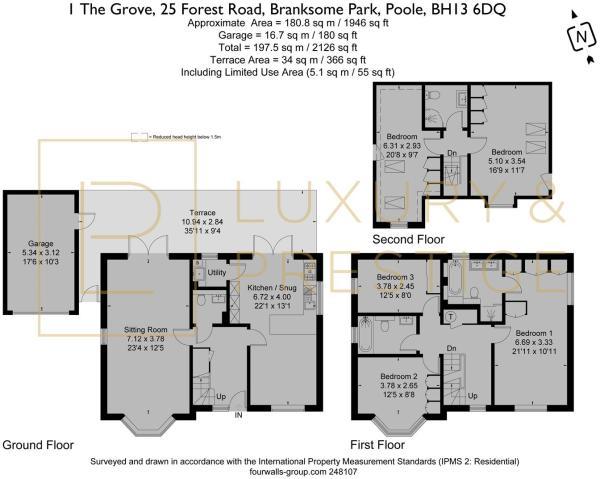 1 The Grove - Floorplan