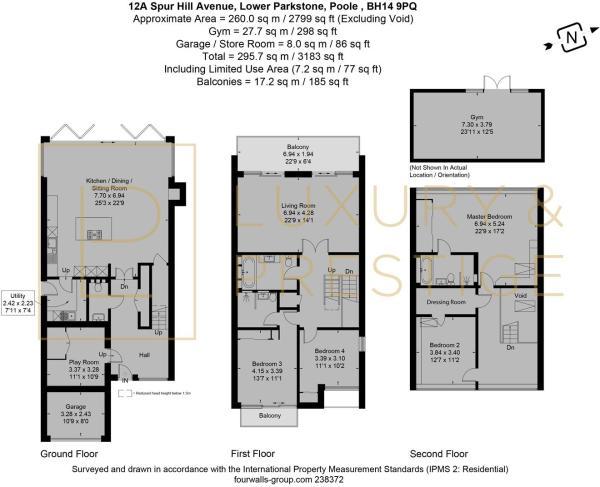 12A Spur Hill Avenue - Floorplan
