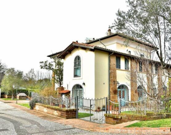 2 Bedroom Semi Detached House For Sale In Formello Rome Lazio Italy