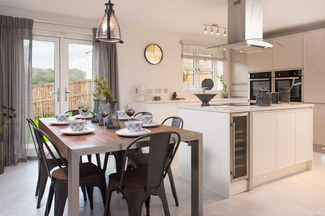 Chartford Homes Horsforth Grange kitchen