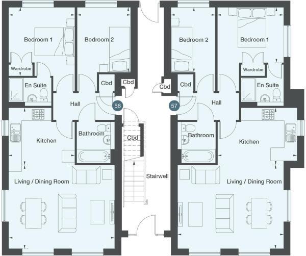 Apartment 57