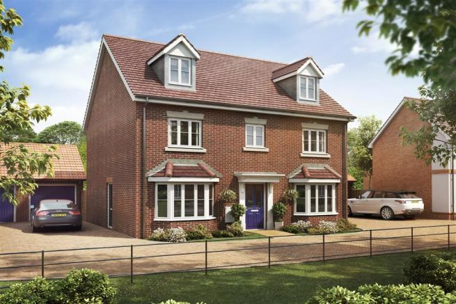 4 Bedroom Detached House For Sale In Mount Road Bury St