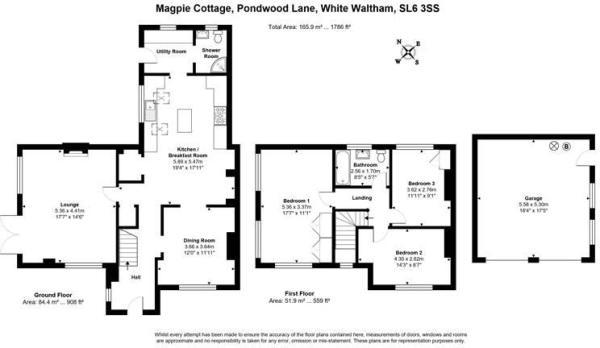 Magpie Cottage, Pondwood Lane, White Waltham, SL6
