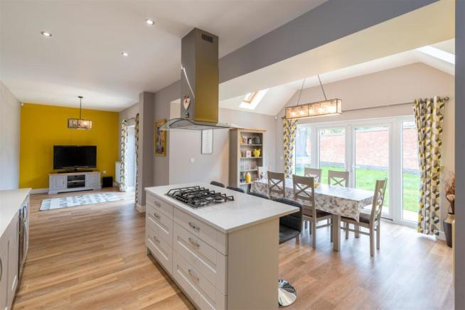 Family Living Kitchen