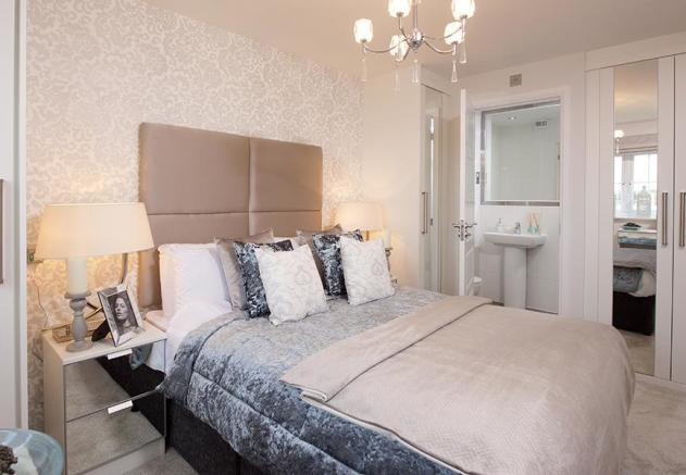 Folkstone master bedroom
