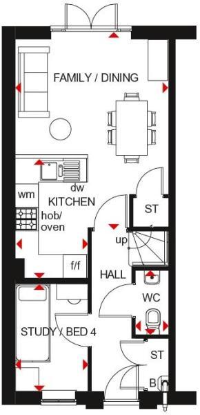 Queensville ground floor plan