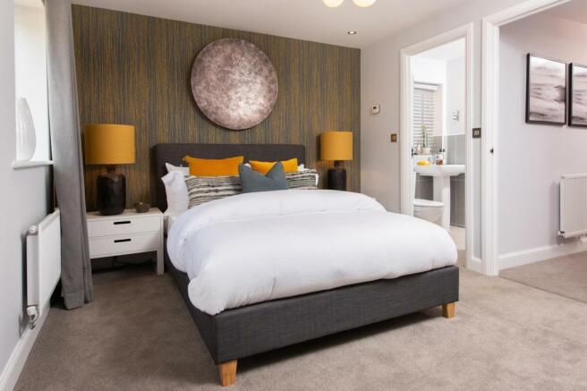 Queensville master bedroom