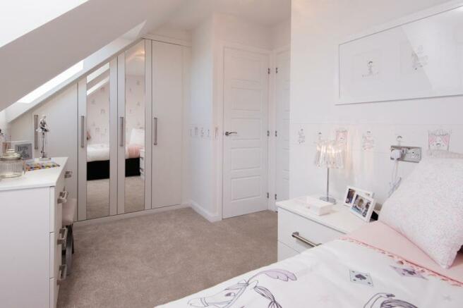 Hawley single bedroom