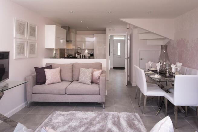 Hawley kitchen/dining area