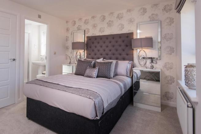 Hawley master bedroom
