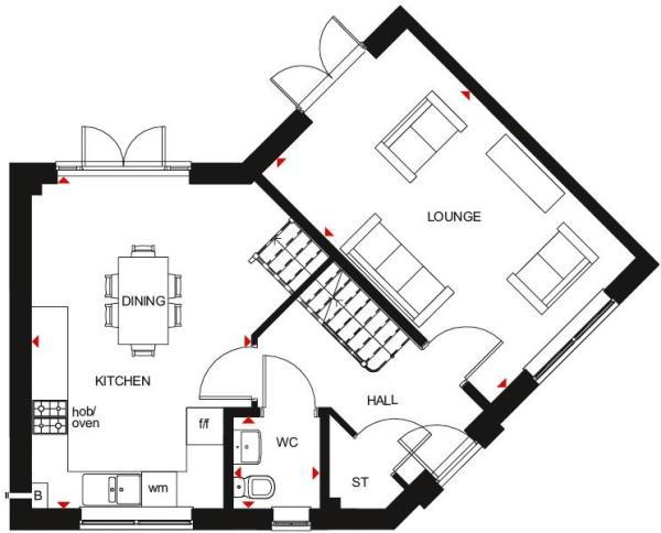 Eskdale ground floor plan