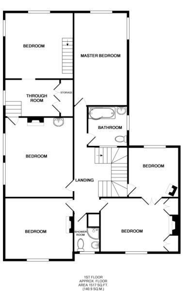 Upstairs plan