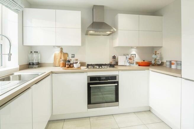 Similar Tiverton Show Home Kitchen