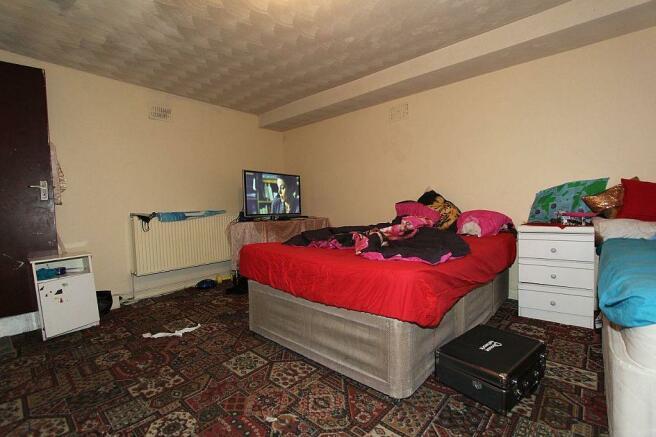 Basement Living Room/Bedroom