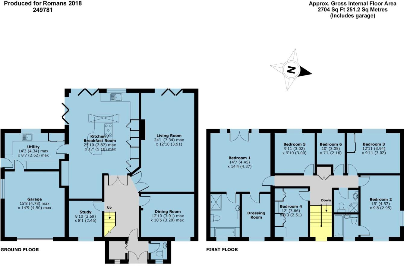 6 bedroom detached house for sale in Chiltern Road, Maidenhead ...