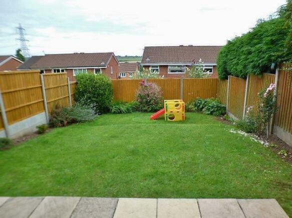 Garden and rear aspe