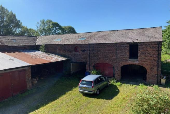 Existing barns to fr