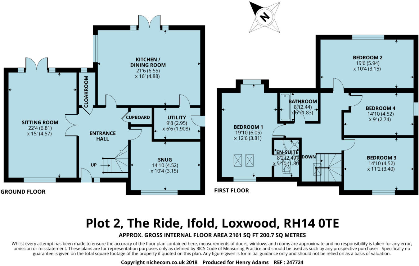 4 bedroom detached house for sale in The Ride, Ifold, RH14, RH14