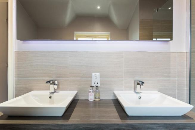 His & hers basin