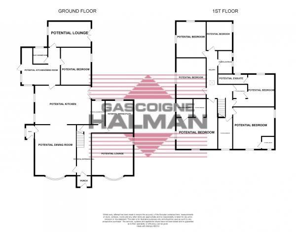 Floorplan- Potential