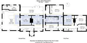 Priory Cottage floor plan