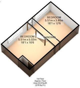 FLOOR PLAN: 3D: LOFT ROOM: