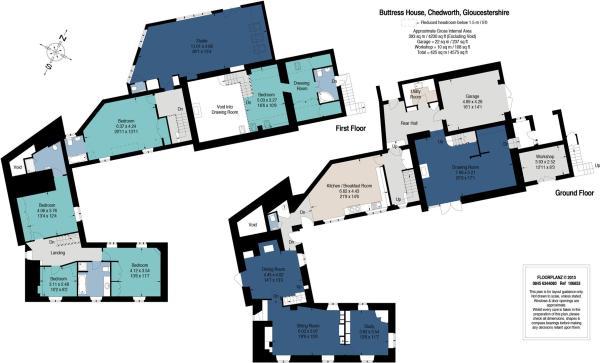 Buttress House floor plan Sharvell Property.jpg
