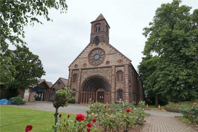 Church At The Rear