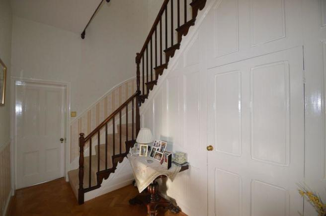 TURNED STAIRCASE