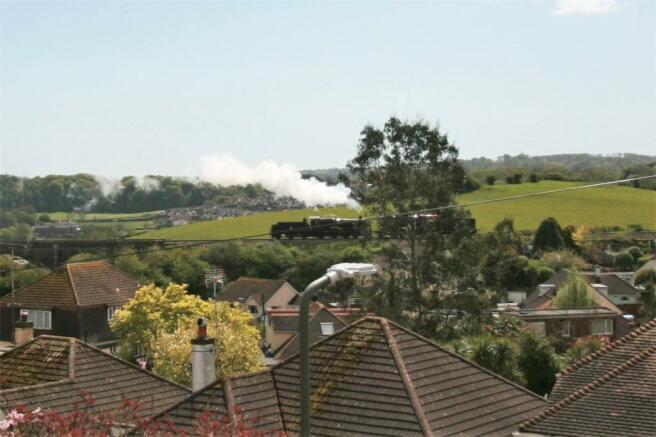 View Of Steam Train