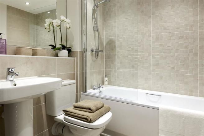 Photograph of a typical Taylor Wimpey show home