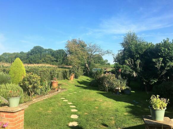Rear Garden/View