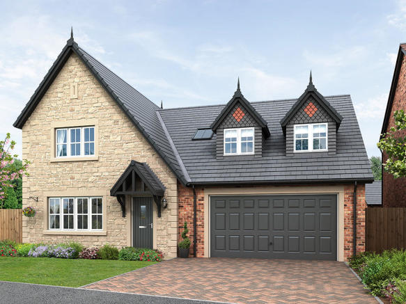External CGI of 4-bedroom Salisbury