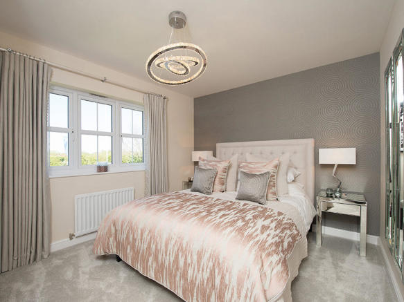 Stylish double bedroom