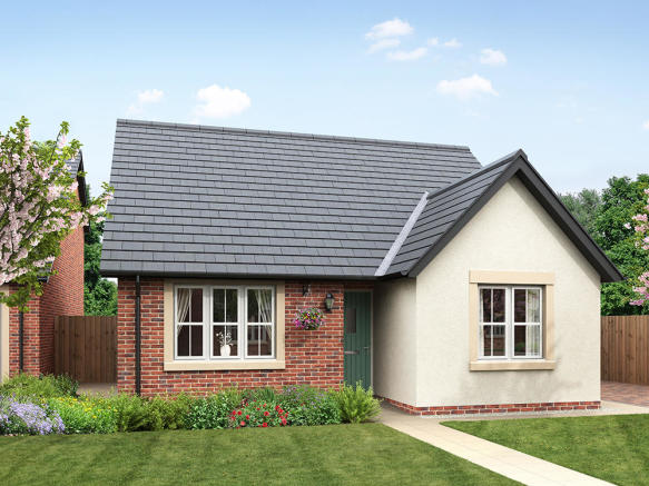 External CGI of 3-bedroom Banbury