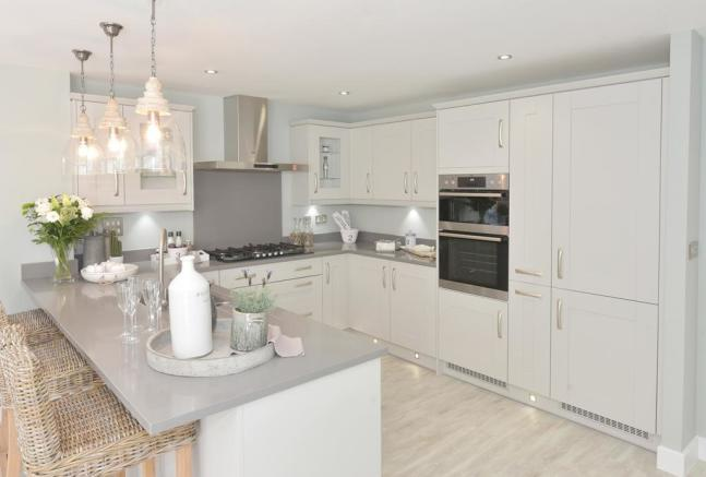 Henley Show Home Kitchen at Shepherds Rest