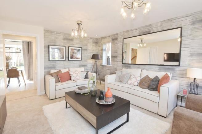 Kennett Show Home Lounge at Shepherds Rest