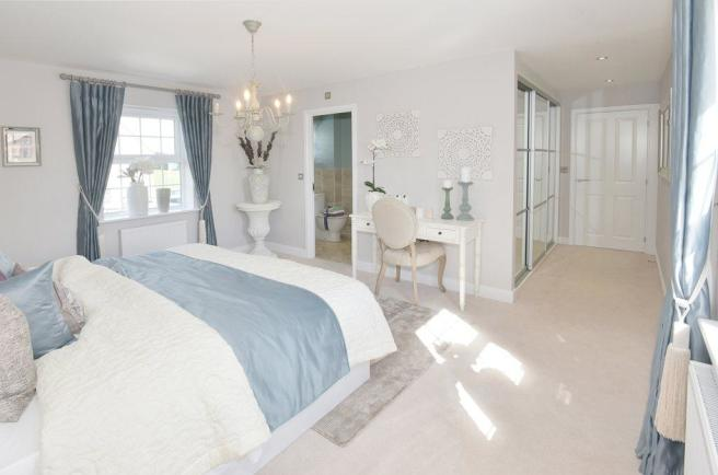Henley Show Home Master Bedroom at Shepherds Rest