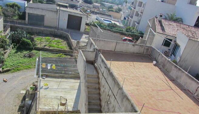 several terrace